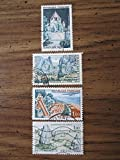1961 to 1965 French postage stamps