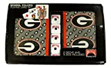 Georgia Bulldogs 2 Packs of Playing Cards with Dice