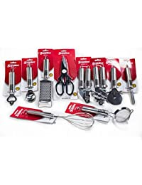 CheckOut 10 Piece Kitchen Gadgets and Tools Set by Topenca Made of Rustproof Stainless Steel with Non-Slip Aluminum Handle. opportunity