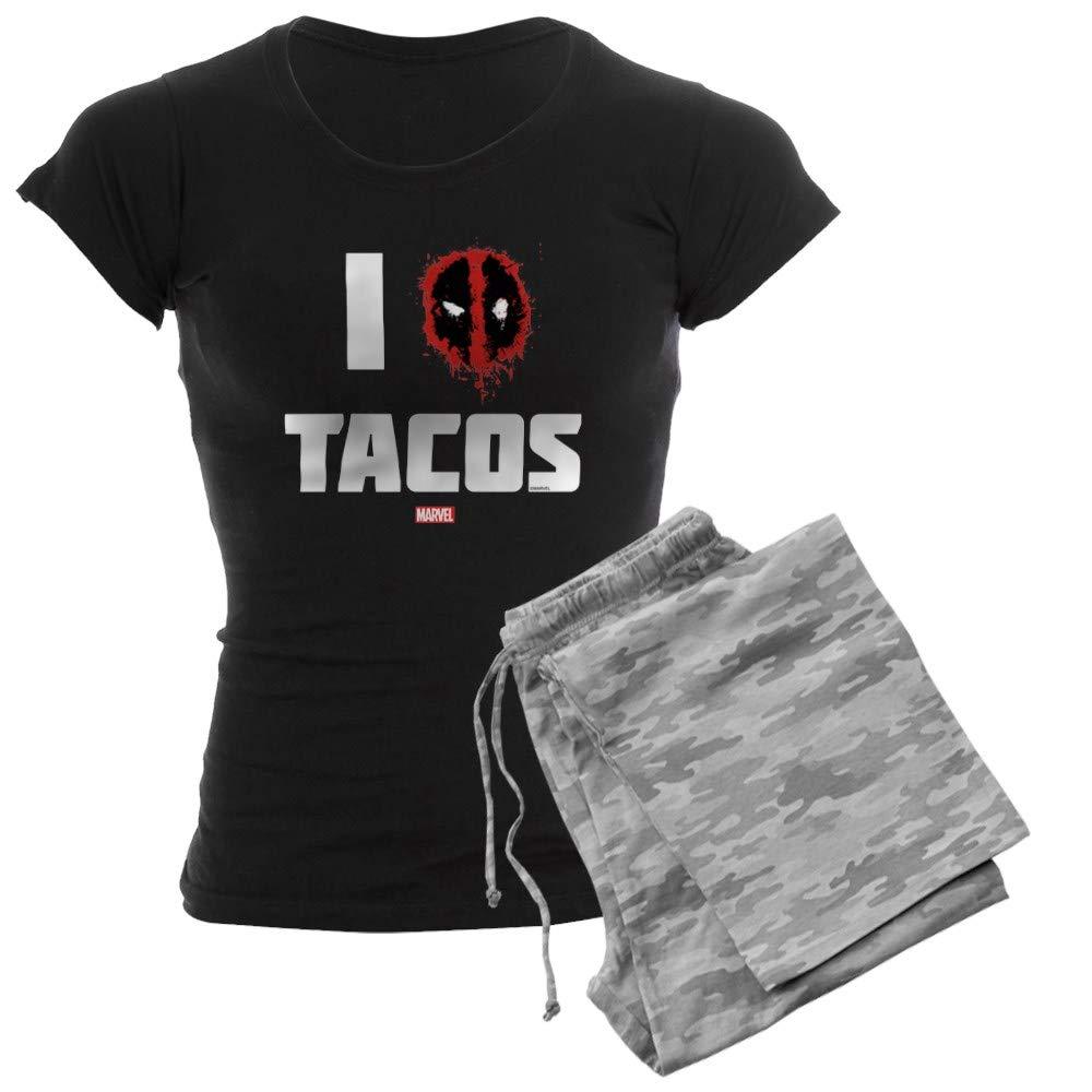 CafePress Deadpool Tacos Womens PJs