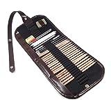 Cobee® CB-38411 Pro 18pcs Sketch Pencils Eraser Charcoal Pencil Extender Paper Pen Drawing Set With Bag Art Supply Tool
