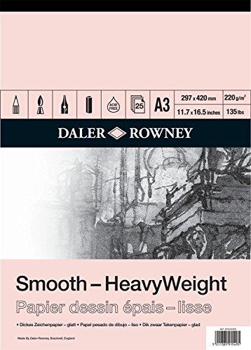 Daler Rowney- Dr HWeight Cartridge Pad A3