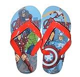 Character 'Marvel Avengers' Summer Size 12-13 Flip Flops Footwear