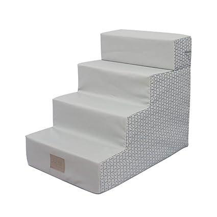 Escaleras y escalones Escaleras Plegables, Pasos para Perros, 4 Escalones para Cama/Sofás