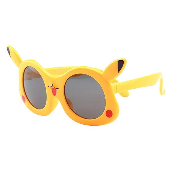 qiansu Moda para Niños Gafas de sol Niños Niñas Niño ...