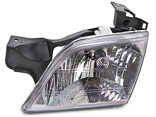 (HEADLIGHTSDEPOT Halogen Headlight Compatible with Chevrolet Oldsmobile Pontiac Montana Silhouette Trans Sport Venture Includes Left Driver Side Headlamp)