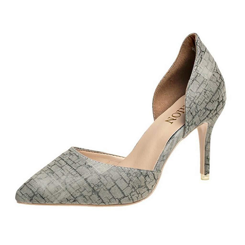 Sunnywill Femme Été Sandales à Talon Carré, Chaussures à Haut Talon de 8cm pour Mariage Soirée Fête