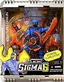 : G.I. Joe 8 Inch Commando Sigma 6 - Spinning Flamecutter Ninja Flames Kamakura