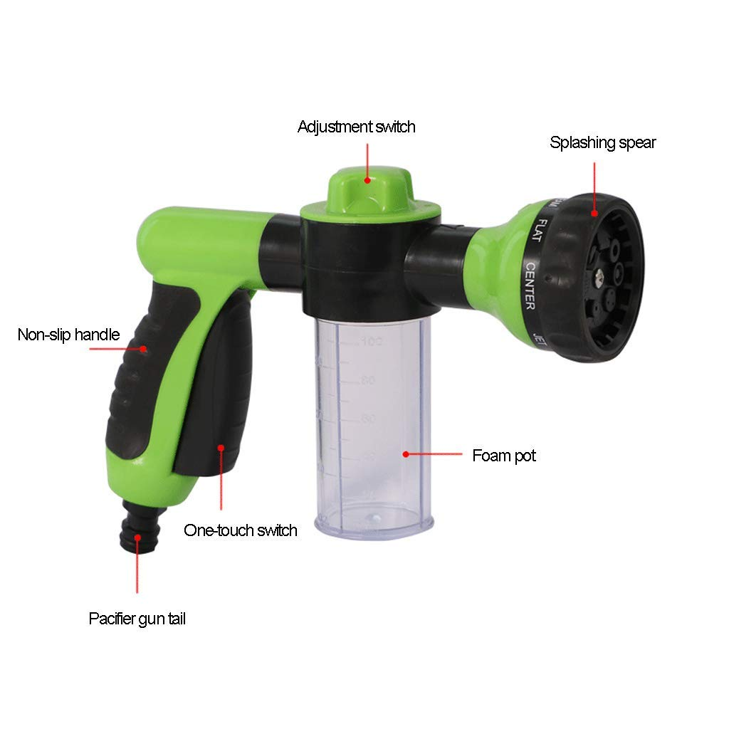 Garden Water Guns Gardening Garden Water Sprayers Water Gun Household Watering Hose Spray Gun For Car Washing Cleaning Lawn Garden Watering Elegant In Style Garden Supplies