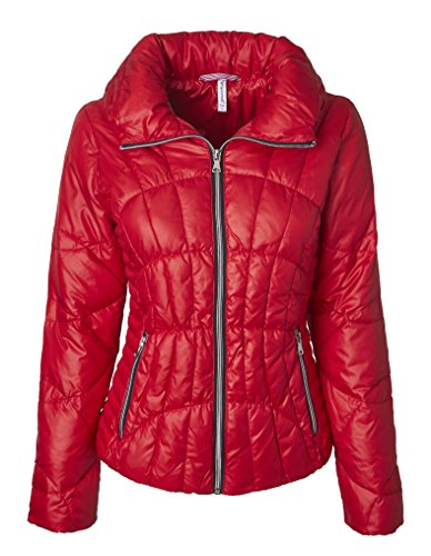 Quilted Puffer Jacket - 7
