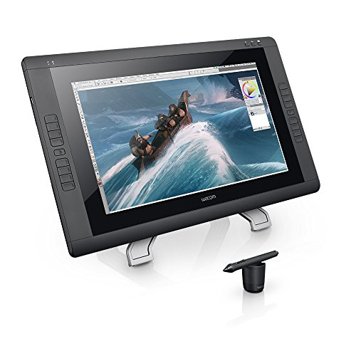 Wacom DTK2200 Cintiq 22HD 21-Inch Pen Display Tablet, Black