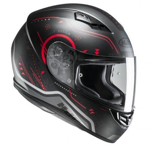 HJC Casque Moto CS 15 Safa MC4HSF Noir//Jaune Taille M