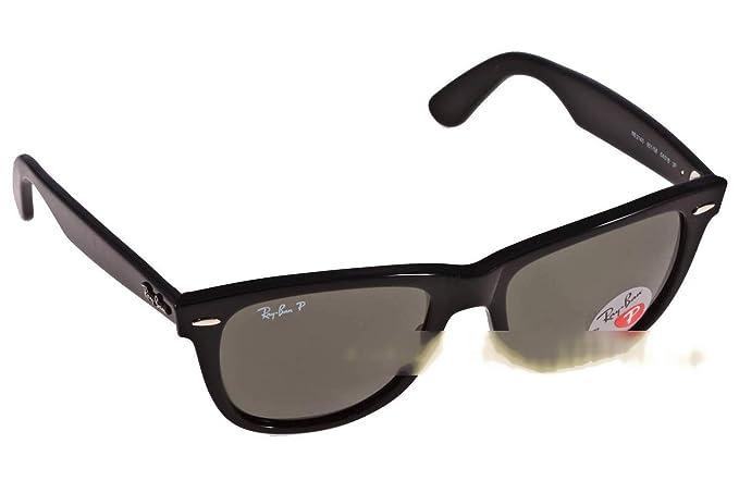628f5bfeae Ray-Ban Wayfarer - Gafas de sol para hombre, color black 901/58 polarized  ø54, talla 54: Amazon.es: Ropa y accesorios