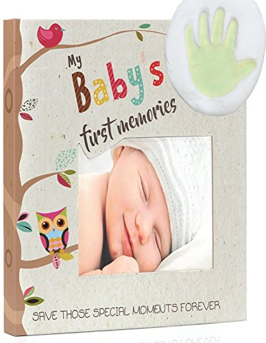 MyKeepSet: baby memory book, Clay footprint, 9