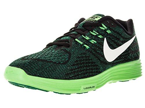 Nike Lunartempo 2, Zapatillas de Running para Hombre Verde / Blanco / Negro / Lima (Lucid Green / White-Blk-Vltg Grn)