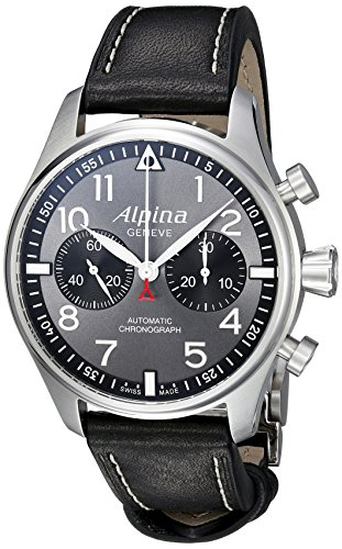 Alpina-Mens-AL-860GB4S6-Startimer-Pilot-Analog-Display-Automatic-Self-Wind-Black-Watch