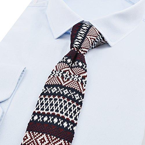 style cravate homme 8 De Mince Bohême Tricotée Alizeal wIgx7BnqH
