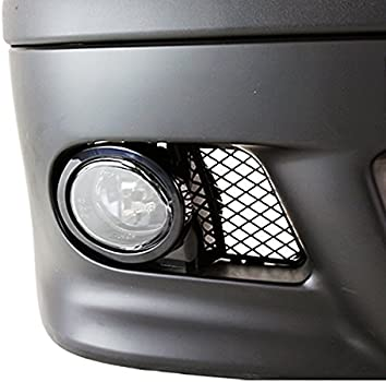 Gloss Black 1998-2003 BMW E39 M5 Fog Mesh Replacement Covers ABS Set Pair