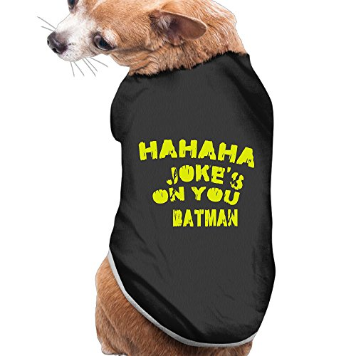 Funniest Outfits (WG Funniest Dawn Of Justice 2016 American Superhero Film Pet Doggie Outfit Black Size L)
