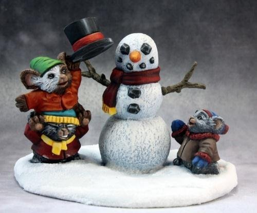 Christmas Mouslings Miniatures by Reaper