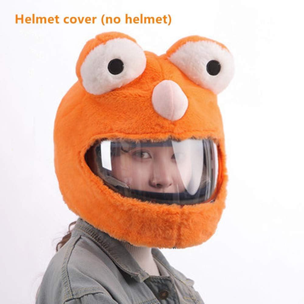Design Amusant et Cadeaux Smile Couvre Casque pour Casque de Moto Couvre-Casque Seulement. Casque Non Inclus Chaleur int/égrale,Vert