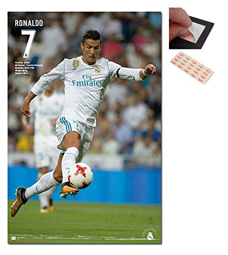 Real Madrid Ronaldo 2017/2018 Season Poster - 91.5 x 61cms