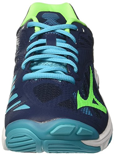 Homme Z4 36 Lightning Greengecko Chaussures de Multicolore Running Mizuno Peacockblue Wave Dressblues 4YwqEF