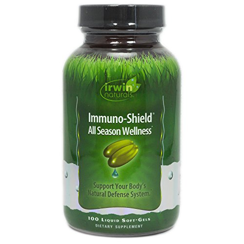 Irwin Naturals Immuno-Shield All Season Wellness for Body's Natural Defense System - 100 Liquid -