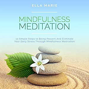 Mindfulness Meditation: 12 Simple Steps to Being Present and Eliminate Your Daily Stress Through Mindfulness Meditation Audiobook