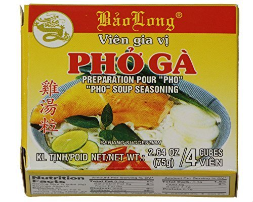 - PHO Spice Cubes Chicken Flavor Soup Seasoning (3-Packs)