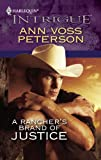A Rancher's Brand of Justice, Ann Voss Peterson, 0373694873