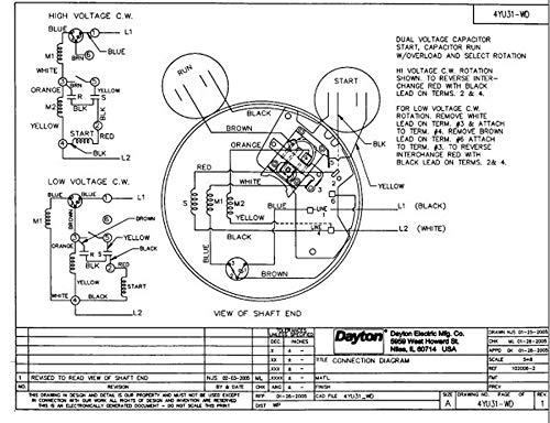 Dayton 1-1/2 HP Belt Drive Motor, Capacitor-Start, 1725 ... on