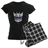 CafePress Transformers Decepticon Symb - Womens Novelty Cotton Pajama Set, Comfortable PJ Sleepwear