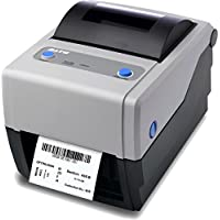 Sato WWCG08031 Series CG4 Thermal Desktop Printer, 203 dpi Resolution, 4 ips Print Speed, USB/Serial Interface, DT, 4.1