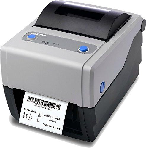 (Sato WWCG18031 Series CG4 Thermal Desktop Printer, 203 dpi Resolution, 4 IPS Print Speed, USB/Serial Interface, TT, 4.1