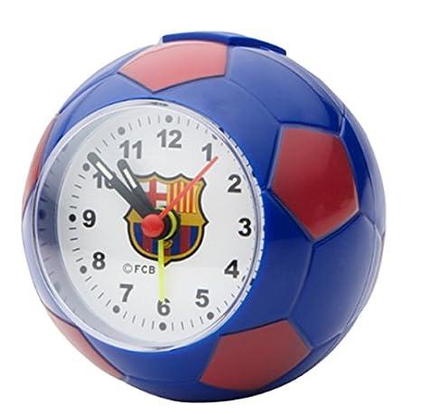 FC Barcelona - Despertador con forma de balón de fútbol de fútbol ...