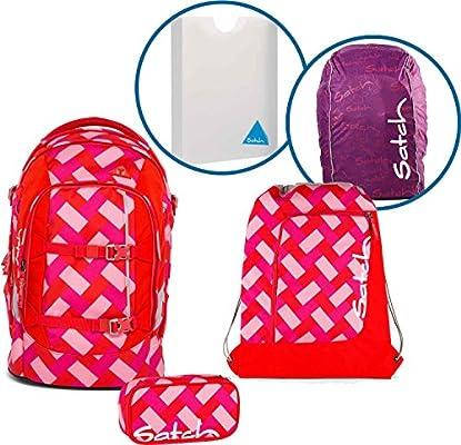 Satch – Set de mochila escolar de 5 piezas pack Chaka Cherry 9d0 ...