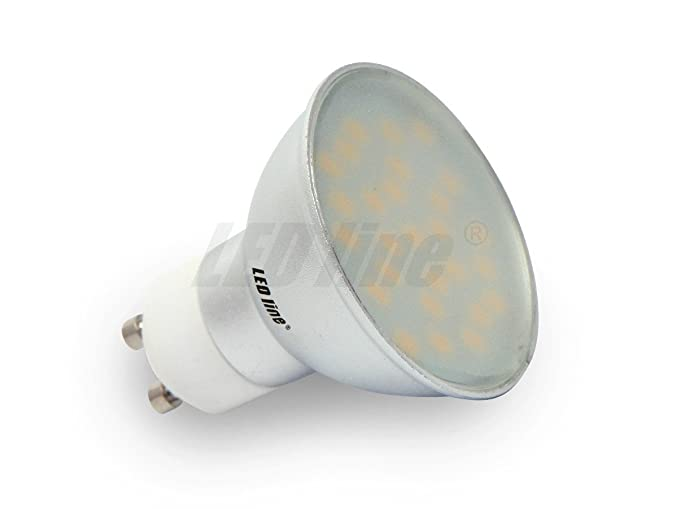 GU10 bombilla LED de 5 W 230 V 27 x 5630 SMD EPISTAR CCD LED blanco