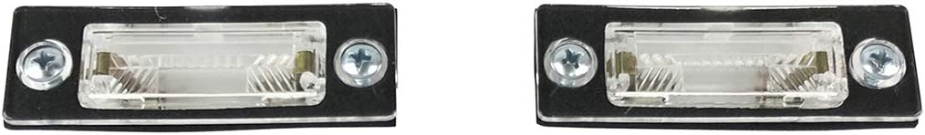 PICFA Feux D/éclairage De Plaque Dimmatriculation pour Volkswagen VW T5 T6 Transporter Multivan Caravelle California 1 Paire Licence Plaque Immatriculation Lampes