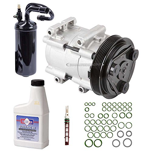 New AC Compressor & Clutch With Complete A/C Repair Kit For Ford Ranger 2.3L - BuyAutoParts 60-80214RK New