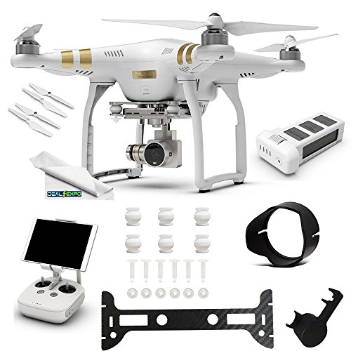 DJI-Phantom-3-Professional-Pro-4K-Video-Camera-1-DJI-Phantom-3-Intelligent-Flight-Battery-Expo-Essentials-Accessory-Bundle