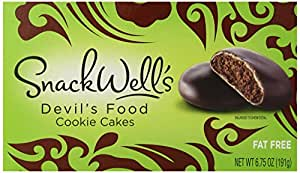 SnackWell's Cookies, Devil's Food Cake, 6.75 Ounce
