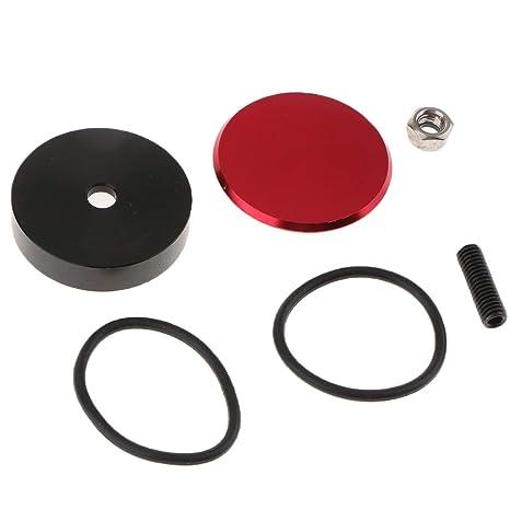 Homyl 1 Set de Tapas de Limpiaparabrisas Trasero de Autos para Reparación y Reemplazo - Plata