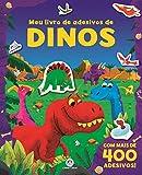 capa de Meu Livro de Adesivos de Dinos