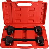 CARTMAN 11.5in Strut Spring Compressor Tool - Set of 2 (Pair) - Macpherson Spring Compression, 3/4in Socket 1/2in Drive
