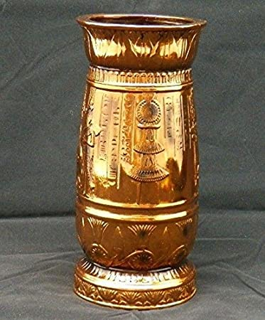 Egyptian Ancient Vase Collectible Centerpiece Flower Stand Egyptian Home Decor