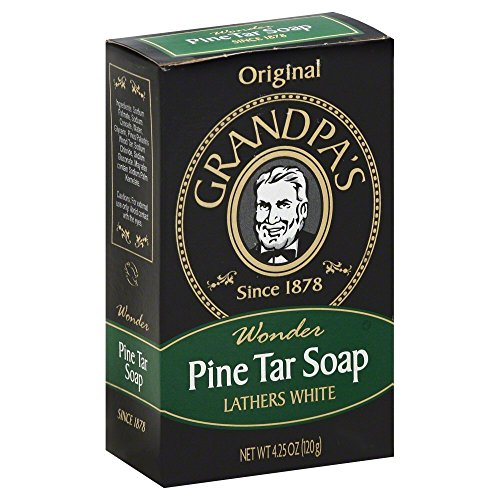 Grandpa Soap Pine Tar 4.25 oz (Pack of 6) by Grandpa's