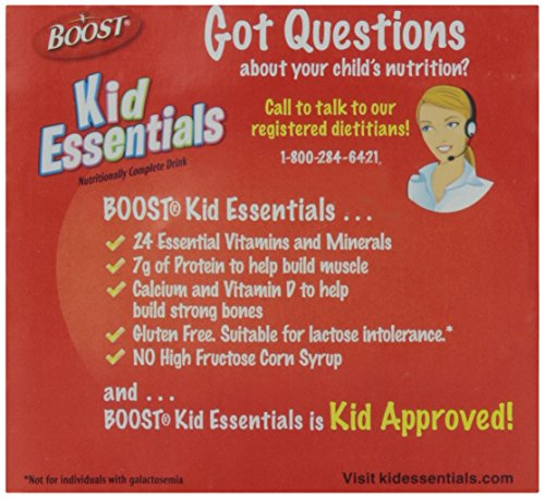 Boost Kid Essentials Chocolate Nutritionally Complete Drink - 4 PK