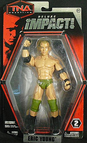 TNA Wrestling Action Figures - Deluxe Impact Series 2 - ERIC YOUNG (7 inch)