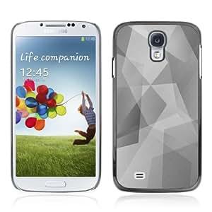 YOYOSHOP [Cool Polygon B&W Pattern] Samsung Galaxy S4 Case